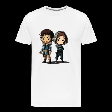 Cassian and Jyn - Men's Premium T-Shirt