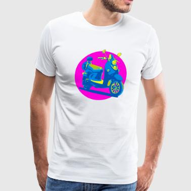CLASSIC SCOOTER - Men's Premium T-Shirt