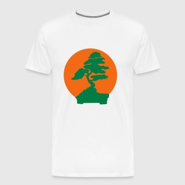 Karate Kid bonsai tree (2 color flex) - Men's Premium T-Shirt
