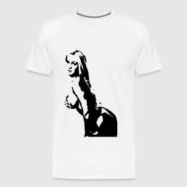 Hand Bra - Men's Premium T-Shirt