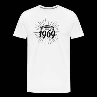 Awesome since 1969 - Men's Premium T-Shirt