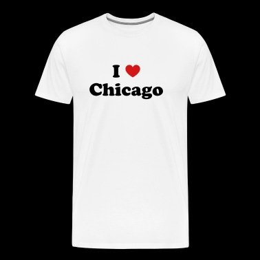 I love Chicago - Men's Premium T-Shirt