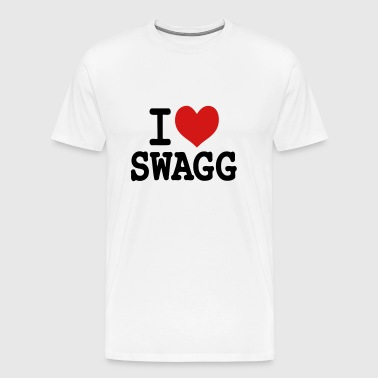 I love swagg original - Men's Premium T-Shirt
