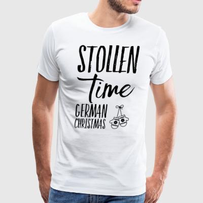 Stollen time german christmas - Men's Premium T-Shirt