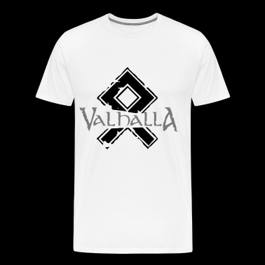 Valhalla Runic Germanic Viking gods pagan - Men's Premium T-Shirt