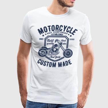 Motorcycle race championship established since bes - Men's Premium T-Shirt