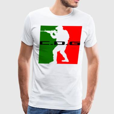 C.D.G MEXICAN CODE - Men's Premium T-Shirt