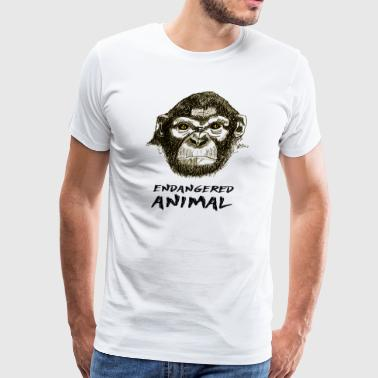 Endangered Animal - Men's Premium T-Shirt