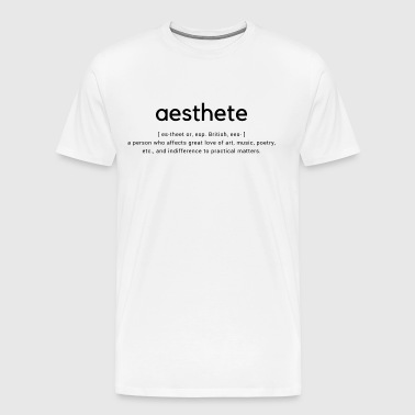aesthete - Men's Premium T-Shirt