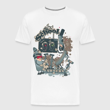 BARBERSHOP - Men's Premium T-Shirt