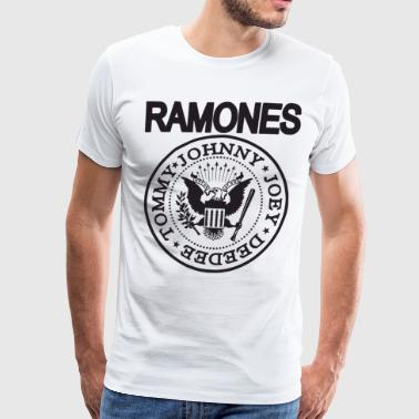 The Ramones T Shirt Punk Rock Raglan Baseball Tee - Men's Premium T-Shirt