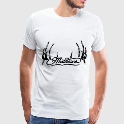 Mathews Hunting Archery Solo Cam Deer Buck - Men's Premium T-Shirt