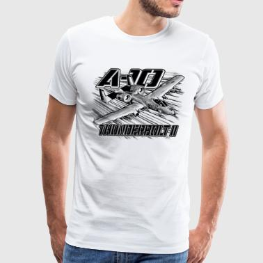A-10 Thunderbolt II - Men's Premium T-Shirt