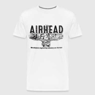Air Cooled Bmw Motorcycles Boxer Beemers Airheads - Men's Premium T-Shirt