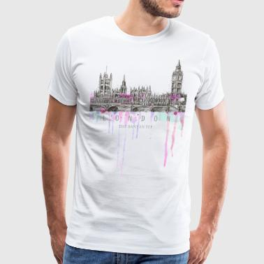 London - The City of Dreams - Men's Premium T-Shirt