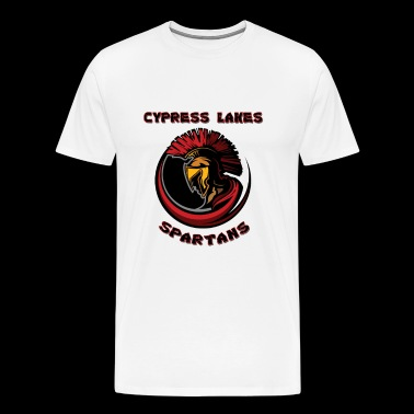 Cypress Lakes Remixed Logo - Men's Premium T-Shirt