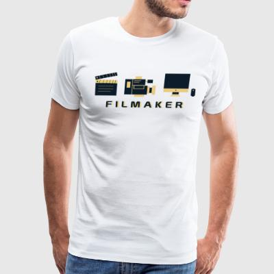CREATIVE DESIGN || FILM MAKER - Men's Premium T-Shirt