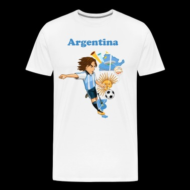 argetina team - Men's Premium T-Shirt