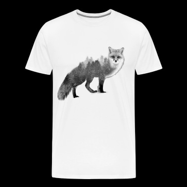 Fox - Save the Forest - Love Nature Store - Men's Premium T-Shirt