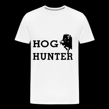 Hog Hunter wild boar hog hunting hunt - Men's Premium T-Shirt