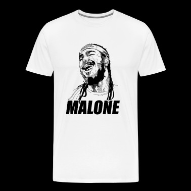 Cool laugh malone - Men's Premium T-Shirt