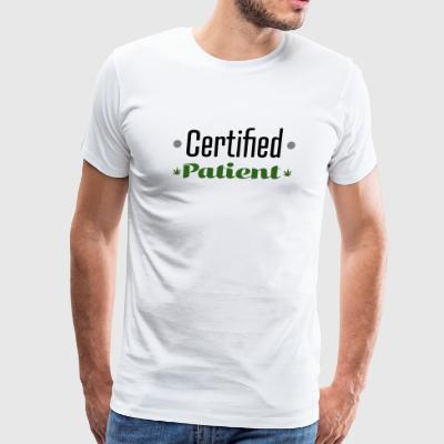 Certified (Cannabis) Patient - Men's Premium T-Shirt