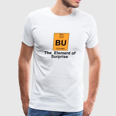 Boo - Boo The Element of Surprise - Men's Premium T-Shirt