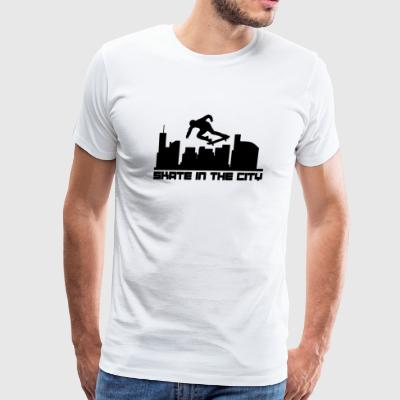 Skate - Skate In The City - Men's Premium T-Shirt