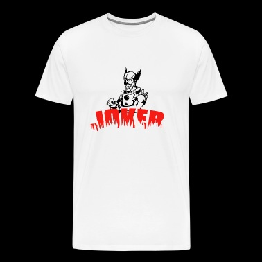 Joker - Playing Card - Men's Premium T-Shirt