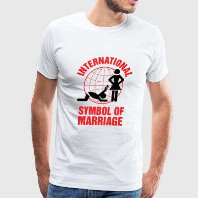 Marriage - Marriage Symbol - Men's Premium T-Shirt