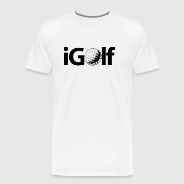 I golf - i golf - Men's Premium T-Shirt
