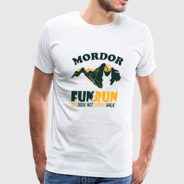 RUN - Mordor FUN RUN - Men's Premium T-Shirt