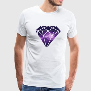 Diamond - Diamond in Space - Men's Premium T-Shirt