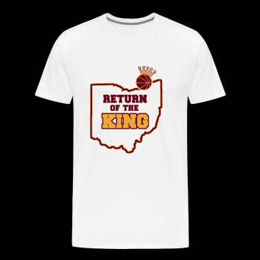 Volleyball - RETURN OF THE KING - Men's Premium T-Shirt