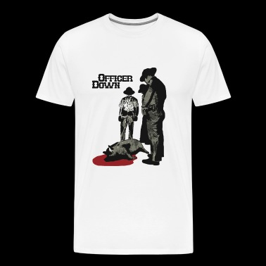 Officer Down - Officer Down - Men's Premium T-Shirt