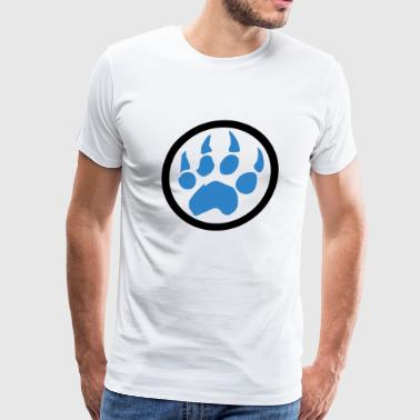 Bear - Paw - Men's Premium T-Shirt