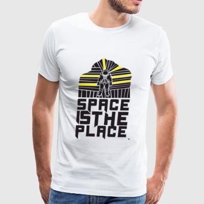 Space - Space is the Place - Men's Premium T-Shirt