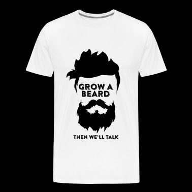 Beard - Beard - Men's Premium T-Shirt