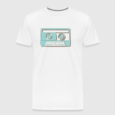 Cassette Tape Music Retro - Men's Premium T-Shirt