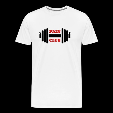 Barbell - Men's Premium T-Shirt