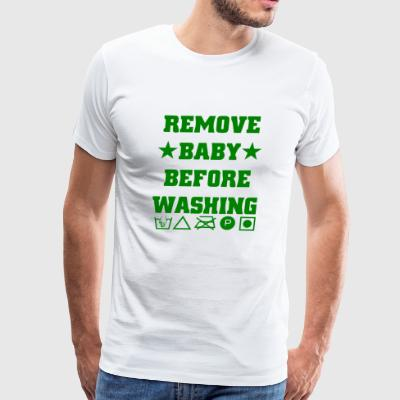 GIFT - REMOVE BABY GREEN - Men's Premium T-Shirt