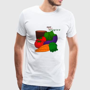 Eat your veggies! - Men's Premium T-Shirt