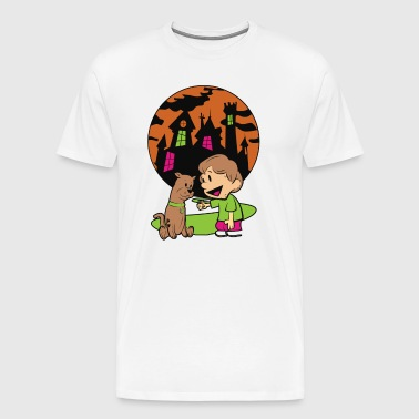Shaggy n Scoob - Men's Premium T-Shirt