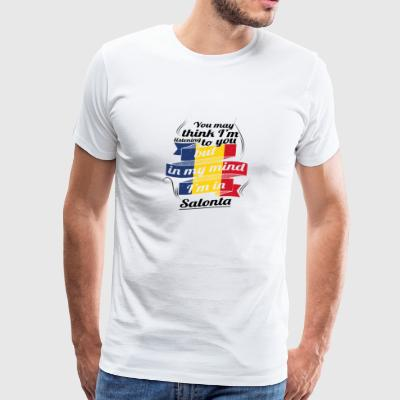 URLAUB Rumaenien ROOTS TRAVEL I M IN Romania Salon - Men's Premium T-Shirt
