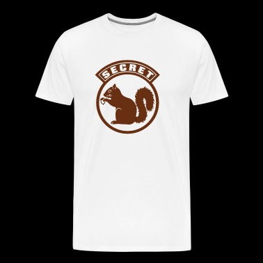 Monkey Secret Squirrel - Men's Premium T-Shirt