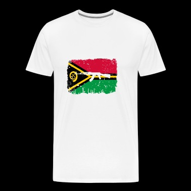 homeland fight ak 47 heimat roots Vanuatu png - Men's Premium T-Shirt