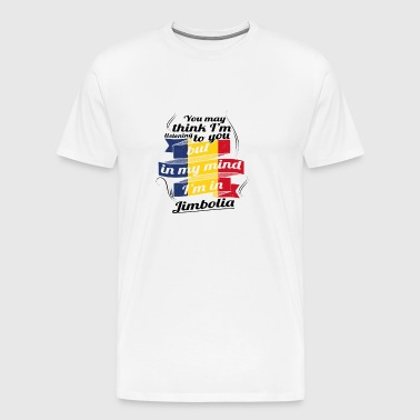 URLAUB Rumaenien ROOTS TRAVEL I M IN Romania Jimbo - Men's Premium T-Shirt