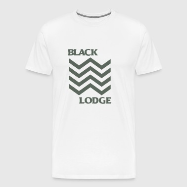 Black Lodge - Men's Premium T-Shirt
