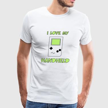 I love my Handheld - Men's Premium T-Shirt
