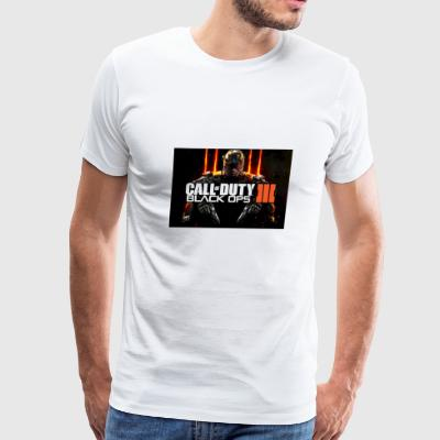Call of duty Black ops 3 print - Men's Premium T-Shirt